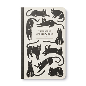 There Are No Ordinary Cats (Lined Journal)