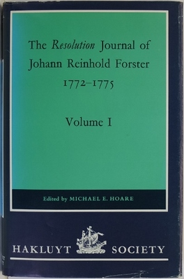 The Resolution Journal of Johann Reinhold Forster 1772-1775 4 Volumes