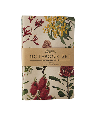Notebook Set Australian Botanical 2-pack