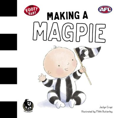 Making a Magpie (Footy Baby) Collingwood