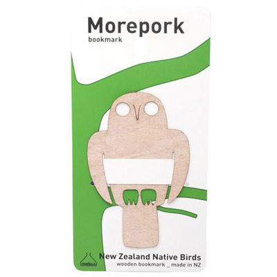 Flexi Ply Bookmark Morepork