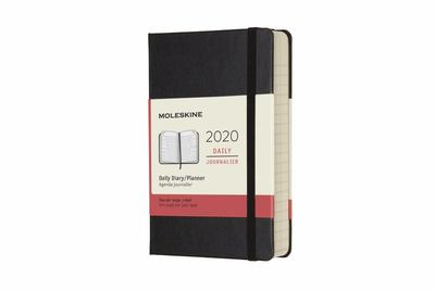 2020 Daily Black Pocket Hard Diary Moleskine