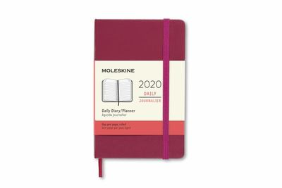2020 Daily Snappy Pink Large Hardcover Diary Moleskine
