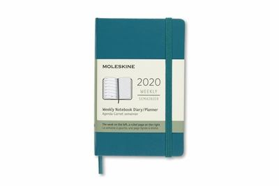 2020 Weekly Notebook Green Pocket Hard Diary Moleskine