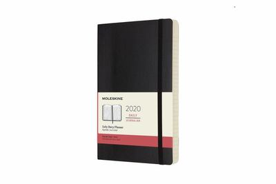 2020 Daily Black Large Softcover Diary Moleskine