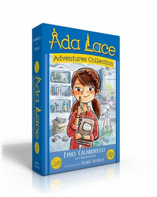 Ada Lace Adventures Collection - Ada Lace, on the Case; Ada Lace Sees Red; Ada Lace, Take Me to Your Leader; Ada Lace and the Impossible Mission
