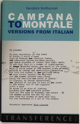 Campana to Montale Versions from Italian