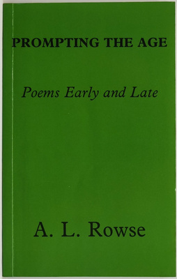 Prompting the Age - Poems Early and Late