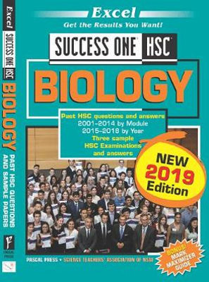 Excel Success One HSC Biology 2019