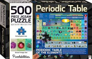 Puzzlebilities: Periodic Table 500-piece Jigsaw Puzzle