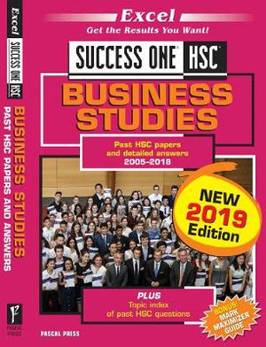 Excel Success One HSC Business Studies 2019