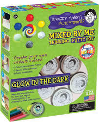 Thinking Putty Mixed by Me Kit Glow in the Dark
