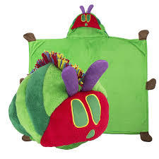 The Very Hungry Caterpillar Comfy Critter Blanket