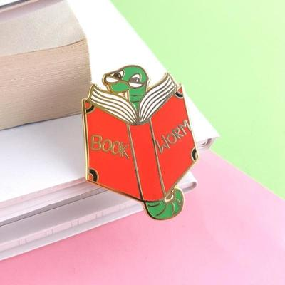 Book Worm Jubly-Umph Pin