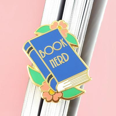 Book Nerd Jubly-Umph Lapel Pin
