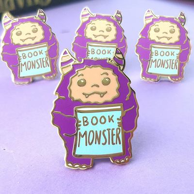 Book Monster Jubly-Umph Lapel Pin