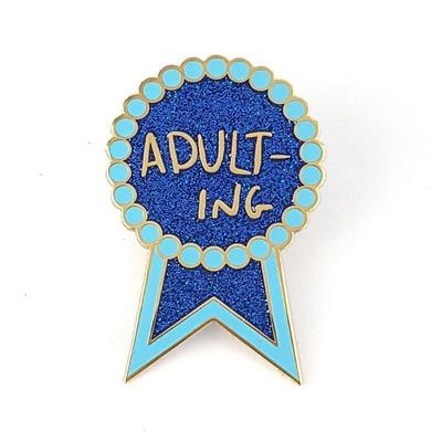 Adulting Jubly-Umph Lapel Pin