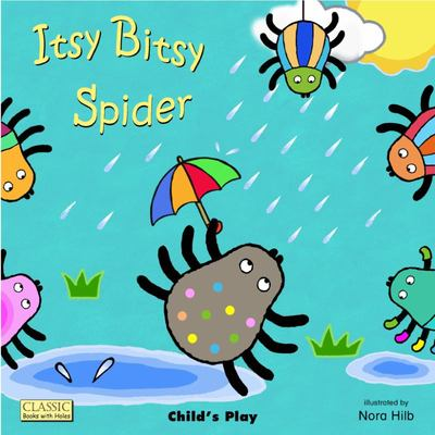 Itsy Bitsy Spider (Big Books With Holes)
