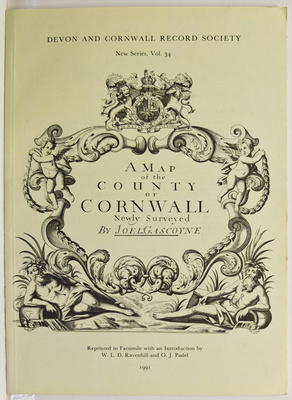 Map of Cornwall 1699