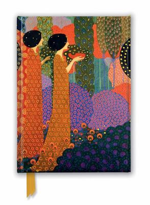 Vittorio Zecchin: Princesses in the Garden from a Thousand and One Nights (Foiled Journal)
