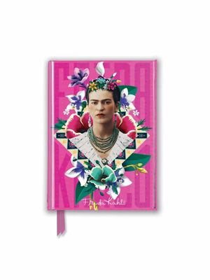 Frida Kahlo Pink (Foiled Pocket Journal)