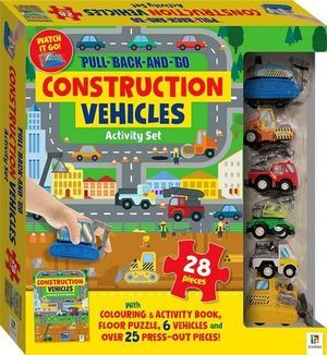 Construction Vehicles: Pull-Back-and-Go Activity Set