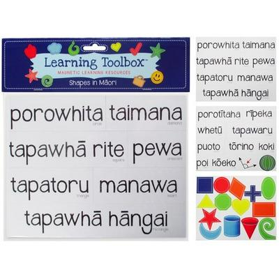 Shapes in Maori (Magnetic Learning Resources)