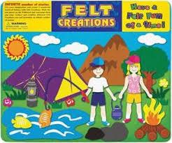 Camping: Felt Creations