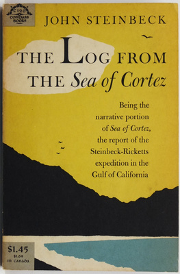 The Log from the Sea of Cortez being the narrative portion of Sea of Cortez, the report of the Steinbeck-Ricketts expedition in the Gulf of California