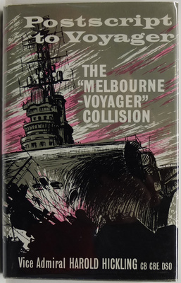 """Postscript to Voyager The Melbourne - Voyager"""" Collision"""