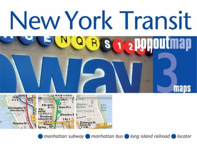 New York Transit Pop out Map