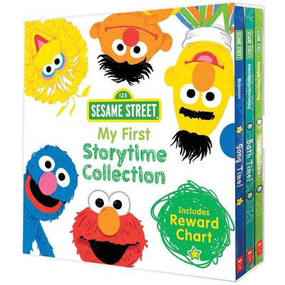 Sesame Street: My First Storytime Collection + Reward Chart