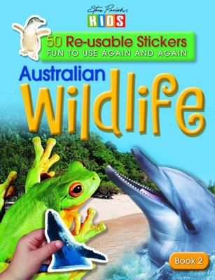 Aust Wildlife 50 Stickers Bk 2