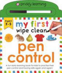 My First Wipe Clean Pen Control