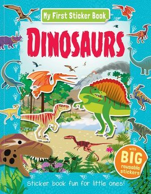 My First Sticker Book - Dinosaurs