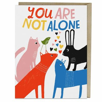 Card -  You Are Not Alone
