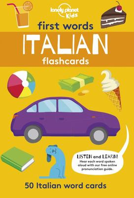 First Words - Italian Flashcards