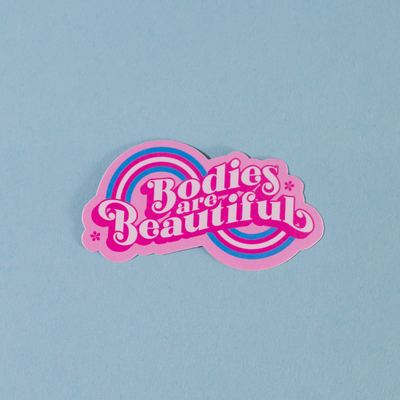 Sticker - Bodies are beautiful (Proud Minority)