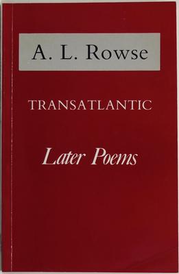 Transatlantic - Later Poems