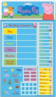 Peppa Pig Magnet Fun: Tell the Time
