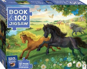 Black Beauty (Book and Puzzle)