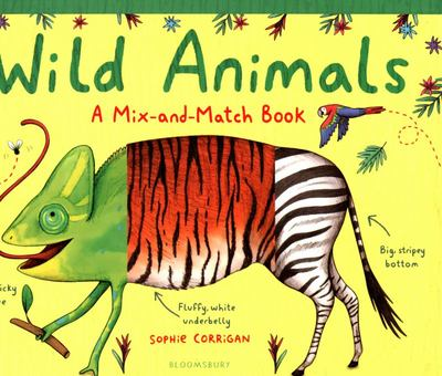 Wild Animals - A Mix-And-Match Book