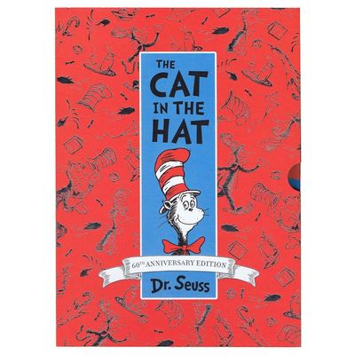 Large 9780008236182 the cat in the hat 60th anniversary edition a