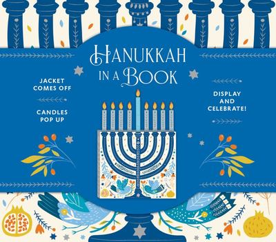 Hanukkah in a Book (UpLifting Editions) - Jacket Comes off. Candles Pop up. Display and Celebrate!