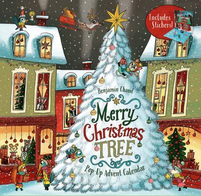 Merry Christmas Tree - Pop-Up Advent Calendar