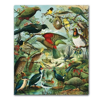 NZ Native Birds Lens Cloth