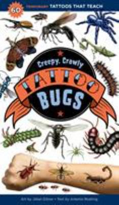 Creepy, Crawly Tattoo Bugs - 30 Temporary Tattoos That Look Like the Real Thing