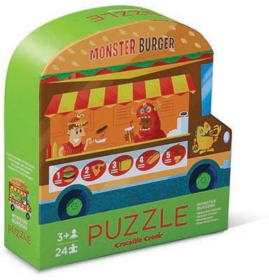 Monster Burger Two-Sided 24pc Puzzle