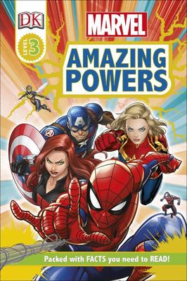 Marvel Amazing Powers (DK Reads: Level 3)