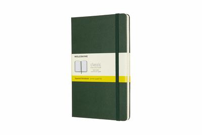 Classic Hard Cover Large Grid Green